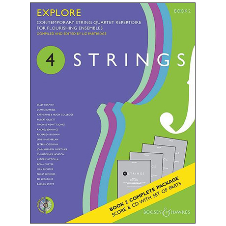 4 Strings: Explore – Set (+CD)