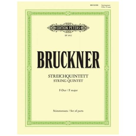 Bruckner, A.: Streichquintett F-Dur