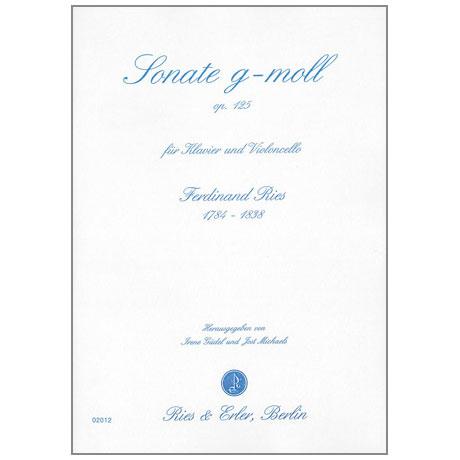 Ries, Ferdinand: Sonate g-moll Op.125