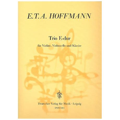 Hoffmann, E. T. A.: Klaviertrio E-Dur