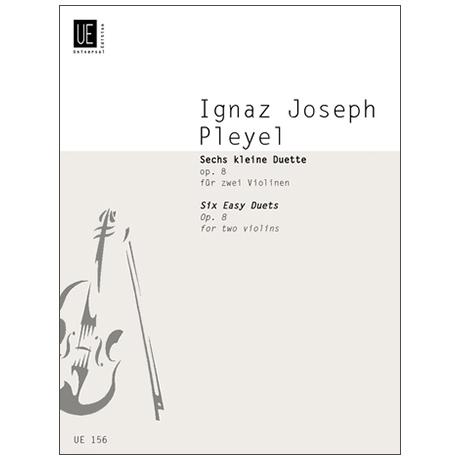 Pleyel I. J.: 6 petits duos Op. 8