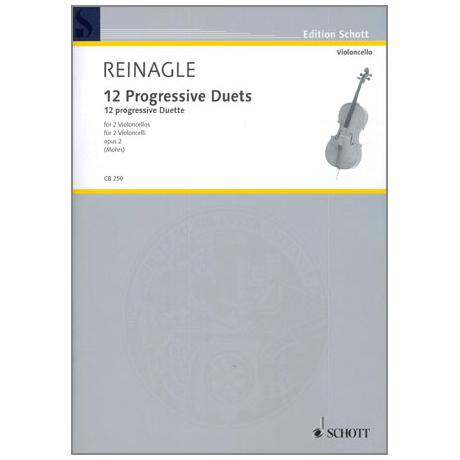Reinagle, J.: 12 Progressive Duets