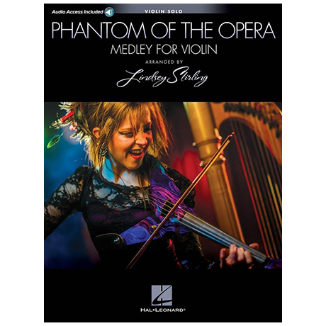 Lindsey Stirling/Andrew Lloyd Webber: Phantom of the Opera Medley (+Online Audio)