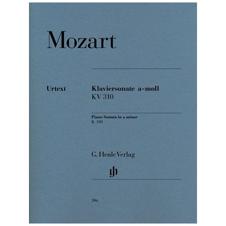 Mozart, W.A.: Klaviersonate a-Moll KV 310 (300d)