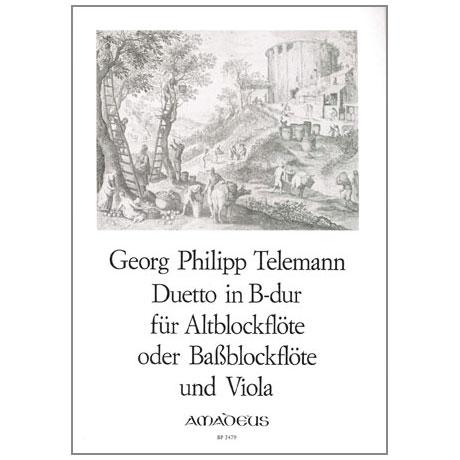 Telemann, G.P.: Duetto B-Dur