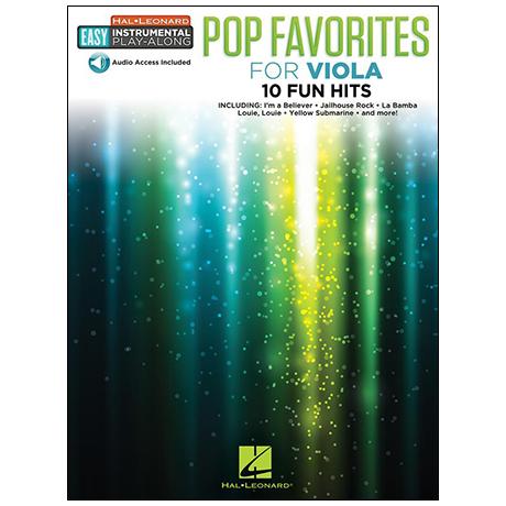 Pop Favorites for Viola (+Online Audio)