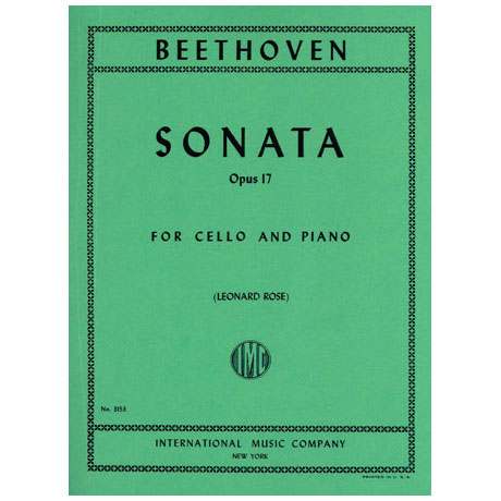 Beethoven, L.v.: Hornsonate op. 17