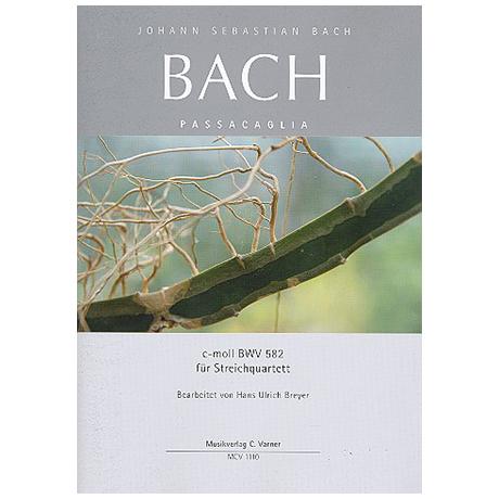 Bach, J.S.: Passacaglia c-Moll BWV582