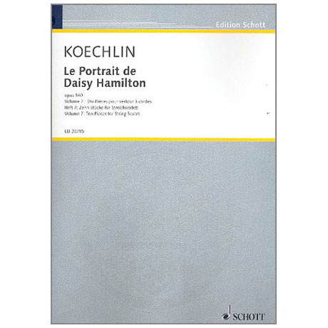 Koechlin: Le Portrait de Daisy Hamilton, op.140