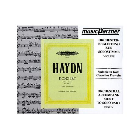 Haydn, J.: Violinkonzert G-Dur, Hob. VIIa: 4 Compact-Disc CD