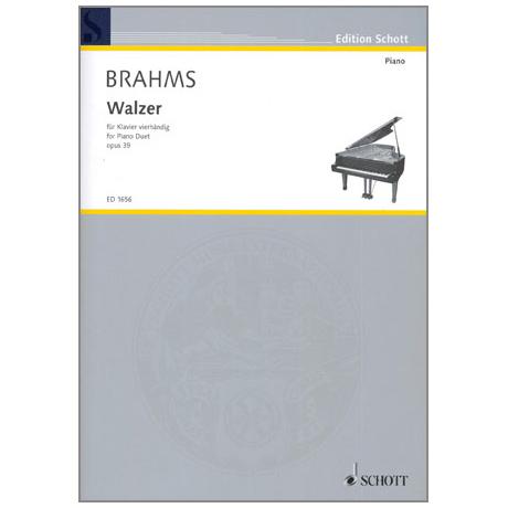 Brahms, J.: Walzer Op.39