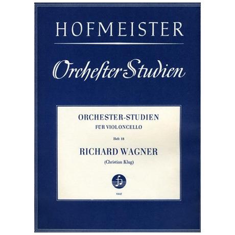 Klug, Chr.: Orchesterstudien Heft 18: Wagner
