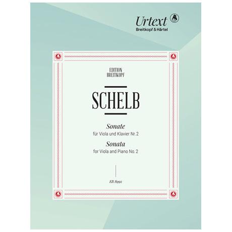 Schelb, J.: Sonate für Viola und Klavier Nr. 2