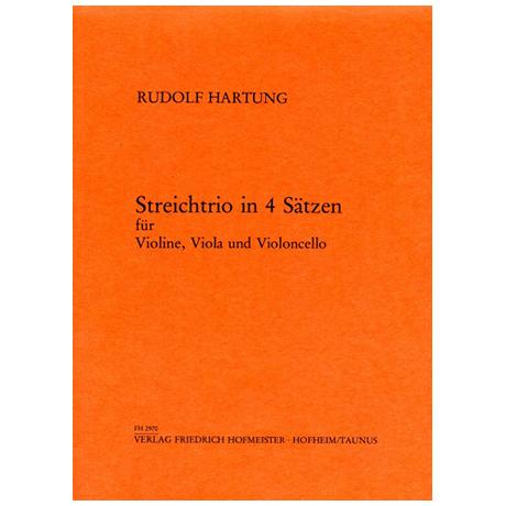 Hartung, R.: Streichtrio in vier Sätzen