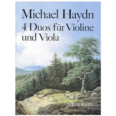Haydn, M.: 4 Duos