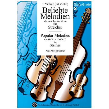 Beliebte Melodien: klassisch bis modern Band 3 – Violine 1