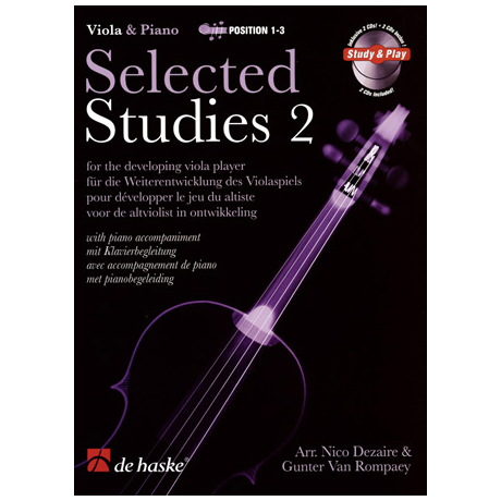 Selected Studies Band 2 (+2 CDs)