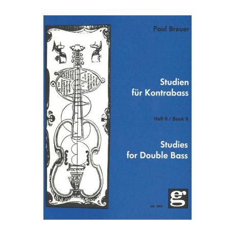 Breuer: Studien für Kontrabass Band 2