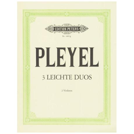 Pleyel, I.J.: 3 leichte Duos