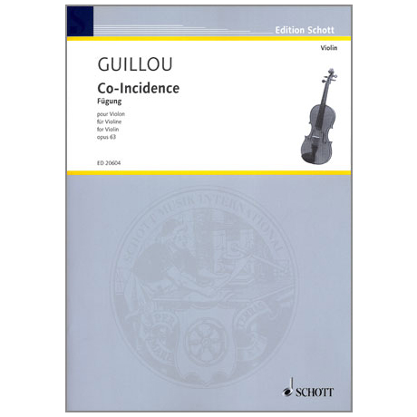 Guillou, J.: Co-Incidence, op. 63