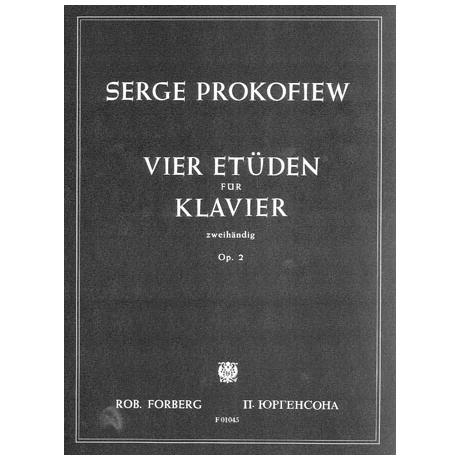 Prokofjew, S.: Vier Etüden Op.2
