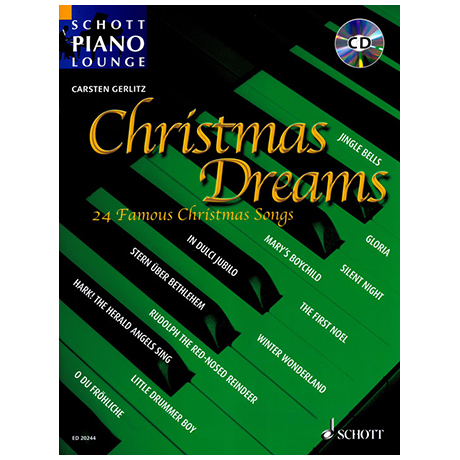 Schott Piano Lounge – Christmas Dreams (+CD)