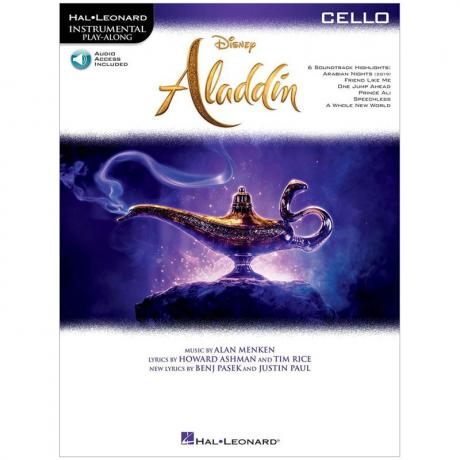 Aladdin for Cello (+Online Audio)