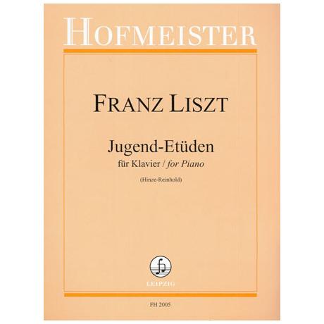 Liszt, F.: Jugend-Etüden