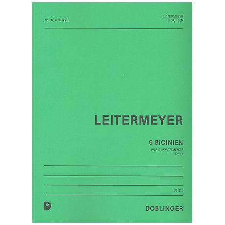 Leitermeyer, F.: 6 Bicinien Op.43