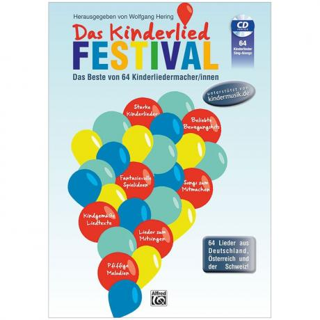 Hering, W.: Das Kinderlied Festival (+CD)