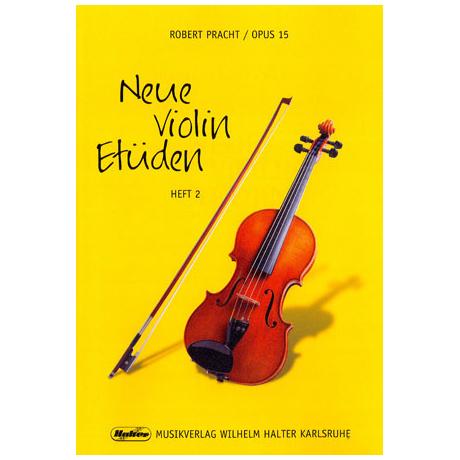 Pracht,Robert: Neue Violin-Etüden op.15 Band 2