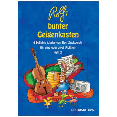 Zuckowski, R.: Rolfs bunter Geigenkasten Heft 2