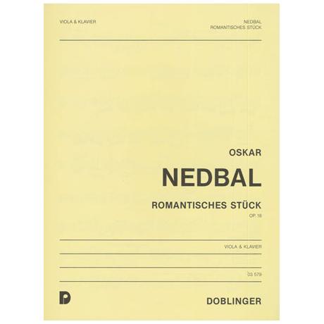 Nedbal, M.J.M.: Romantisches Stück op.18