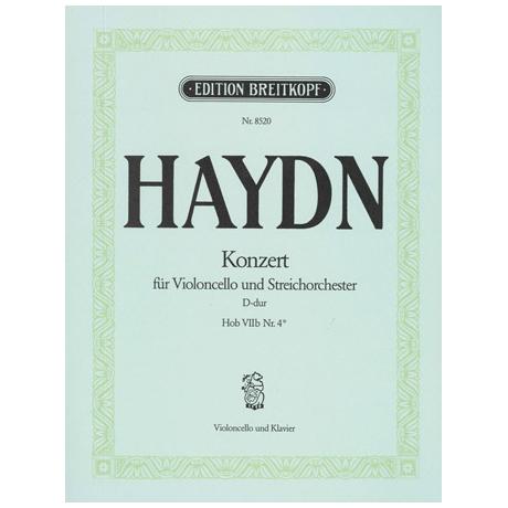 Haydn, J.: Violoncellokonzert Hob.: VIIb: 4 D-Dur