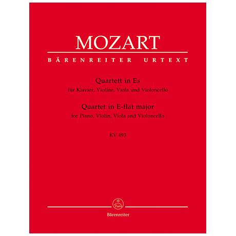 Mozart, W. A.: Quartett KV 493 Es-Dur