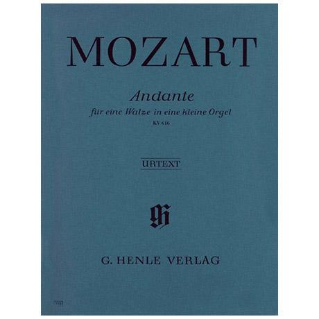 Mozart, W. A.: Andante F-Dur für eine Walze in eine kleine Orgel KV 616