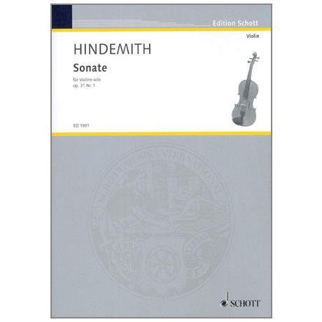 Hindemith, P.: Sonate Op.31 Nr.1