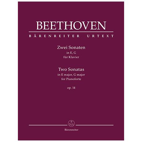 Beethoven, L. v.: Zwei Sonaten Op. 14 E-Dur, G-Dur