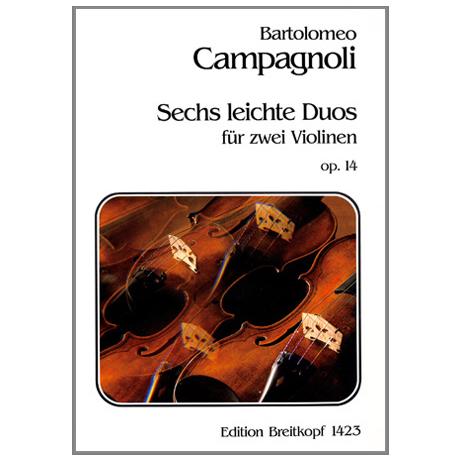 Campagnoli, B.: 6 leichte Duos Op.14