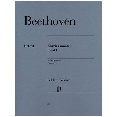 Beethoven, L.v.: Klaviersonaten Band I