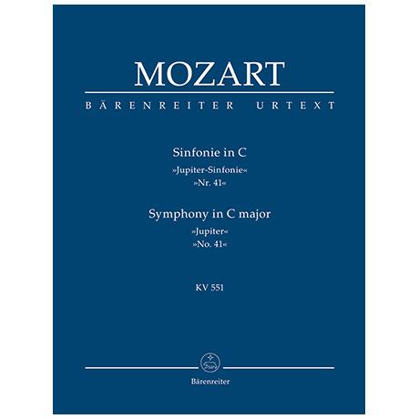 Mozart, W. A.: Sinfonie Nr. 41 C-Dur KV 551 »Jupiter-Sinfonie«