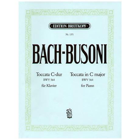 Bach-Busoni: Toccata C-Dur für Orgel