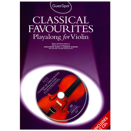 Classical Favourites Playalong For Violin (+CD)