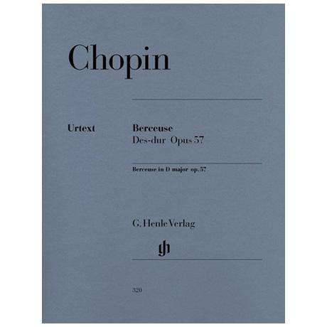 Chopin, F.: Berceuse Des-Dur Op. 57