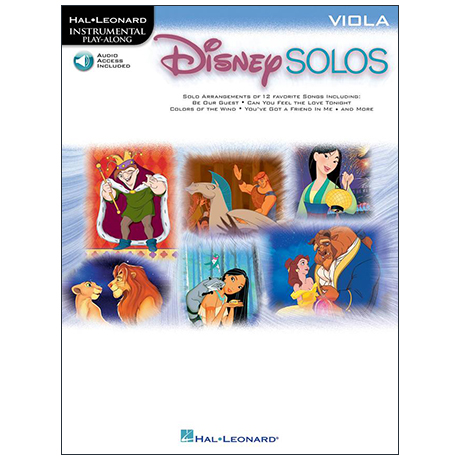Disney Solos for Viola (+Online Audio)