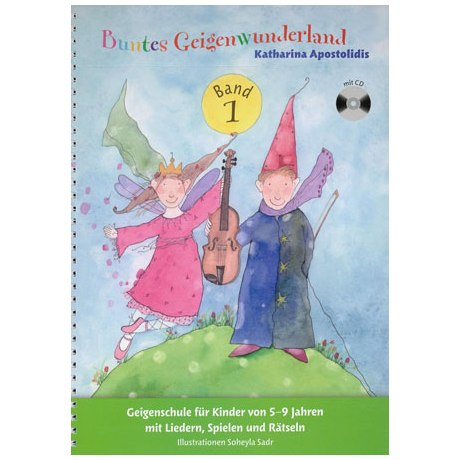 Apostolidis, K.: Buntes Geigenwunderland – Band 1 (+CD)