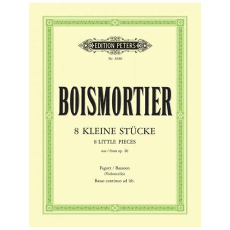Boismortier, J. B. d.: 8 kleine Stücke