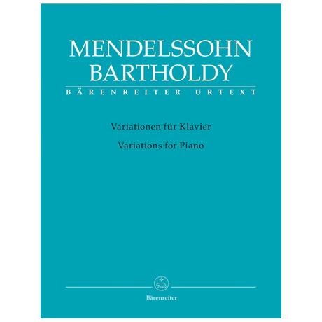 Mendelssohn Bartholdy, F.: Variationen