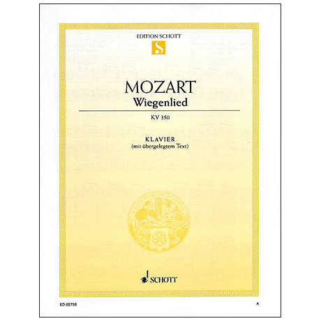 Mozart, W. A. / Flies, B.: Wiegenlied KV 350