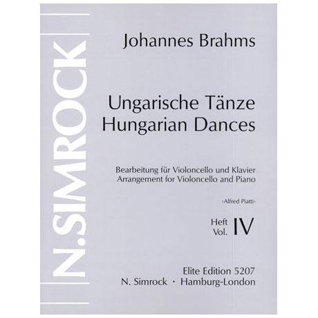 Brahms, J.: Ungarische Tänze Band 4 (Nr.17-21)